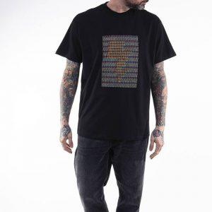 חולצת T קארהארט לגברים Carhartt WIP X Relevant Parties S/S DFA - שחור