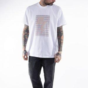 חולצת T קארהארט לגברים Carhartt WIP X Relevant Parties S/S DFA - לבן