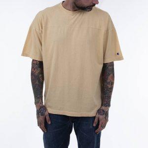 חולצת T צ'מפיון לגברים Champion Crew Neck - צהוב