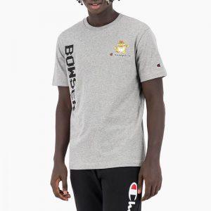 חולצת T צ'מפיון לגברים Champion x Super Mario Bros - אפור בהיר