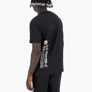חולצת T צ'מפיון לגברים Champion x Super Mario Bros - שחור