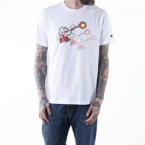 חולצת T צ'מפיון לגברים Champion x Super Mario Bros - לבן