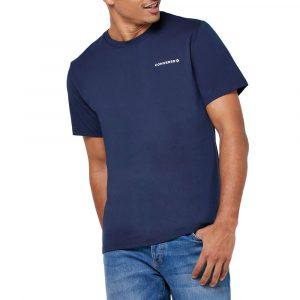 חולצת T קונברס לגברים Converse All Star Tee Obsidian - כחול