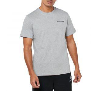 חולצת T קונברס לגברים Converse All Star Tee Obsidian - אפור