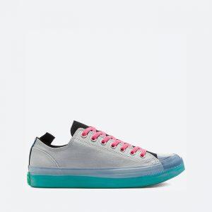 נעלי סניקרס קונברס לגברים Converse Chuck Taylor All Star CX OX - צבעוני כהה