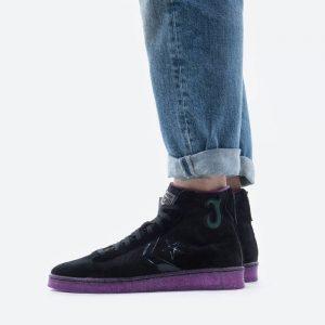 נעלי סניקרס קונברס לגברים Converse x Joe Freshgoods Pro Leather High Top - שחור