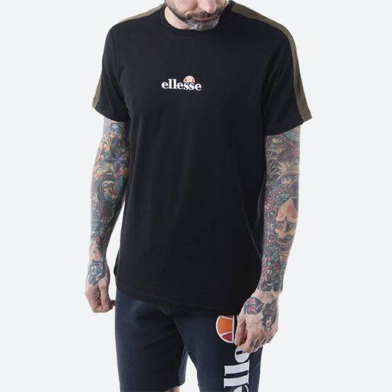 חולצת T אלסה לגברים Ellesse Carcano - שחור