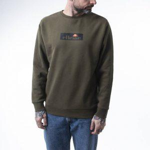 סווטשירט אלסה לגברים Ellesse Livenzo Sweatshirt - ירוק זית