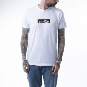 חולצת T אלסה לגברים Ellesse Ombrono Tee - לבן