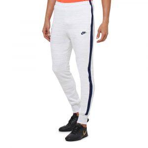 מכנסיים ארוכים נייק לגברים Nike Club Fleece Sweat - לבן