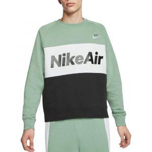 סווטשירט נייק לגברים Nike Fleece Crew - ירוק