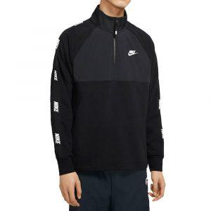 סווטשירט נייק לגברים Nike M Nsw Ce Top Hybrid - שחור