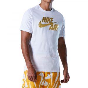 חולצת T נייק לגברים Nike NSW Preheat Air Tee - לבן