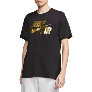 חולצת T נייק לגברים Nike NSW Preheat Air Tee - שחור
