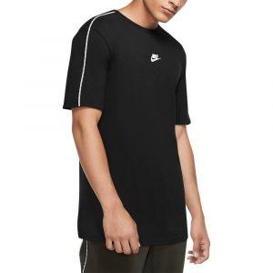 חולצת T נייק לגברים Nike NSW Repeat Top S/S - שחור