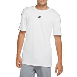 חולצת T נייק לגברים Nike NSW Repeat Top - לבן