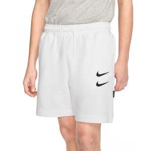 מכנס ספורט נייק לגברים Nike NSW Swoosh - לבן