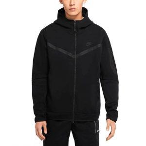 סווטשירט נייק לגברים Nike Tech Fleece - שחור
