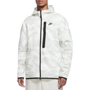 סווטשירט נייק לגברים Nike Tech Fleece - לבן