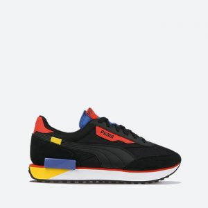 נעלי סניקרס פומה לגברים PUMA Future Rider Neon Play - שחור