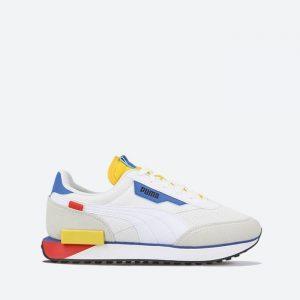 נעלי סניקרס פומה לגברים PUMA Future Rider Neon Play - לבן
