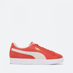 נעלי סניקרס פומה לגברים PUMA Suede Classic XXI - אדום