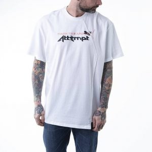 חולצת T פומה לגברים PUMA x Attempt Tee - לבן