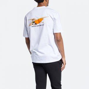 חולצת T רדבק לגברים Redback x Kung Fu Panda SS Tee - לבן