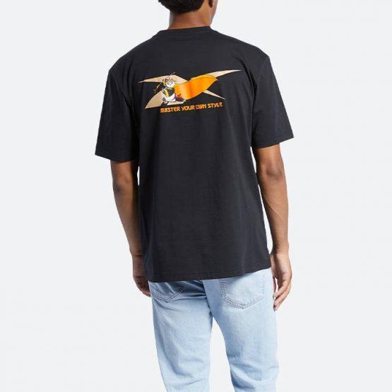 חולצת T רדבק לגברים Redback x Kung Fu Panda SS Tee - שחור