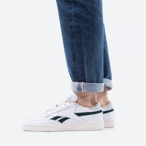 נעלי סניקרס ריבוק לגברים Reebok Club C Revenge - לבן