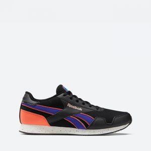 נעלי סניקרס ריבוק לגברים Reebok Royal Classic Jogger 3 Clip - שחור