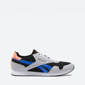 נעלי סניקרס ריבוק לגברים Reebok Royal Classic Jogger 3 - אפור/כחול