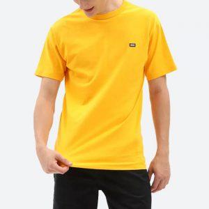 חולצת T ואנס לגברים Vans Off The Wall Classic Saffron - צהוב