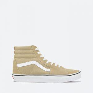 נעלי סניקרס ואנס לגברים Vans UA SK8-Hi - בז'