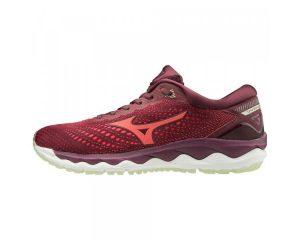 נעלי ריצה מיזונו לנשים Mizuno Wave Sky 3 - אדום