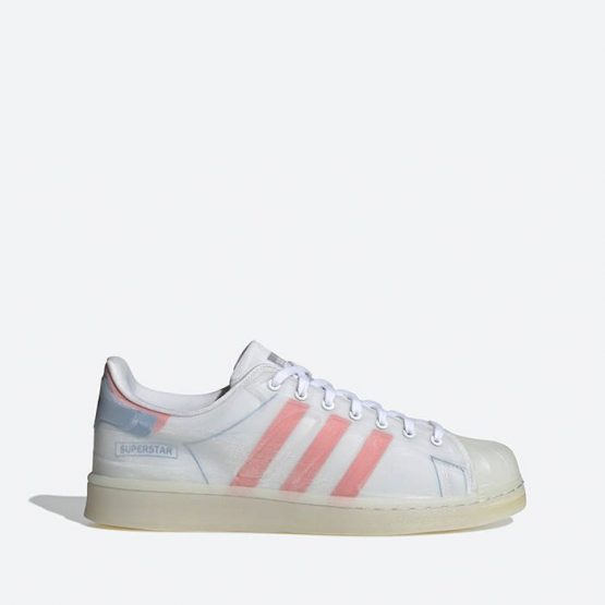 נעלי סניקרס אדידס לגברים Adidas Originals Superstar Futureshell - צבעוני בהיר