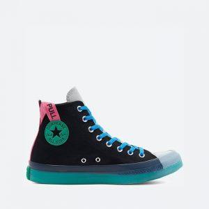 נעלי סניקרס קונברס לגברים Converse Chuck Taylor All Star CX High Top - שחור