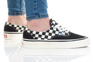 נעלי סניקרס ואנס לגברים Vans Anaheim Era 95 Dx - שחור/לבן