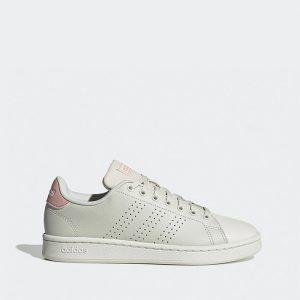 נעלי סניקרס אדידס לנשים Adidas Advantage - אפור בהיר