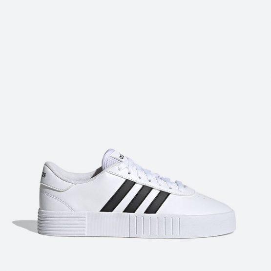 נעלי סניקרס אדידס לנשים Adidas Court Bold - לבן/שחור