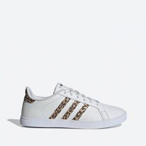 נעלי סניקרס אדידס לנשים Adidas Courtpoint - לבן/צהוב