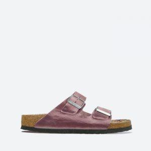 נעלי סניקרס בירקנשטוק לנשים Birkenstock Arizona FL Lavender Blush - סגול