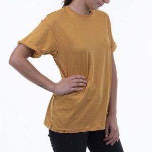 חולצת T קארהארט לנשים Carhartt WIP S/S Chase - צהוב