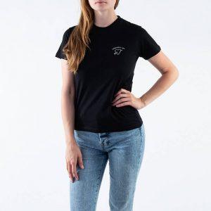 חולצת T קארהארט לנשים Carhartt WIP S/S Reverse Midas - שחור