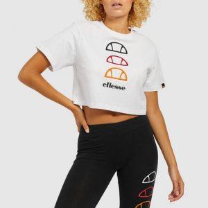 חולצת T אלסה לנשים Ellesse Deway - לבן