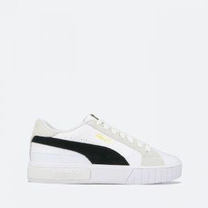 נעלי סניקרס פומה לנשים PUMA Cali Star Mix Wns - לבן/שחור