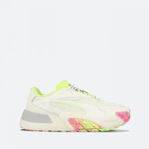 נעלי סניקרס פומה לנשים PUMA Hedra Chaos - לבן