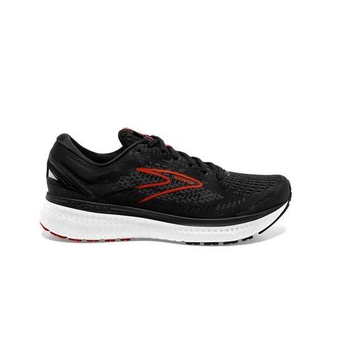 נעלי ריצה ברוקס לגברים Brooks Glycerin 19 - שחור/אדום