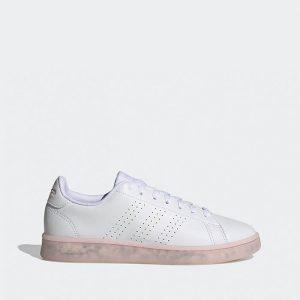 נעלי סניקרס אדידס לנשים Adidas Advantage - לבן/ורוד