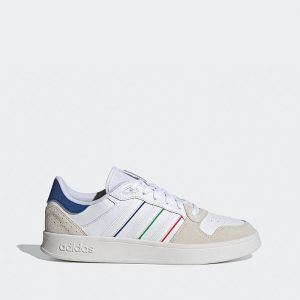 נעלי סניקרס אדידס לגברים Adidas Breaknet Plus - צבעוני/לבן